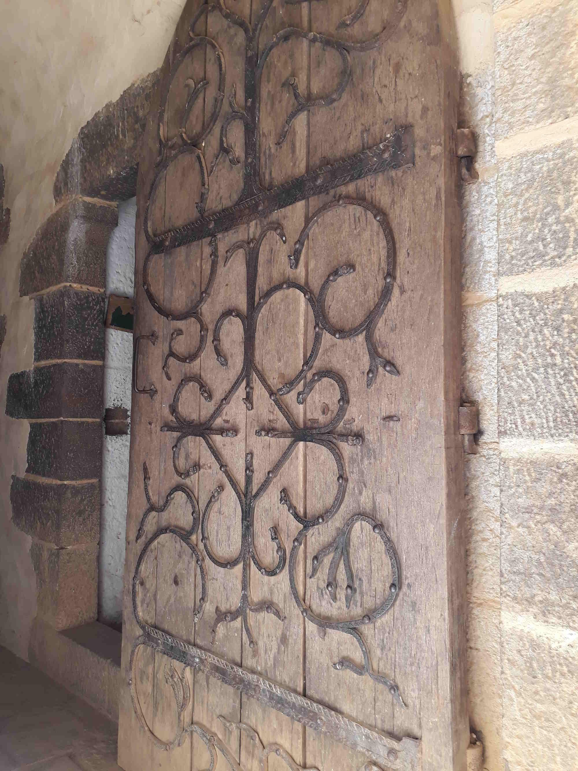 porte du logis seigneurial