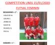 Compétition futsal Féminin 15.01.2020