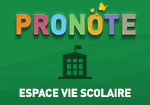 PRONOTE-EspaceVieScolaire