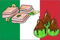 set de table italien 2 v