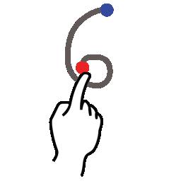 stroke number six gestureworks