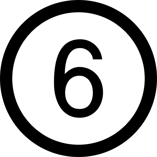 number-six-in-a-circle