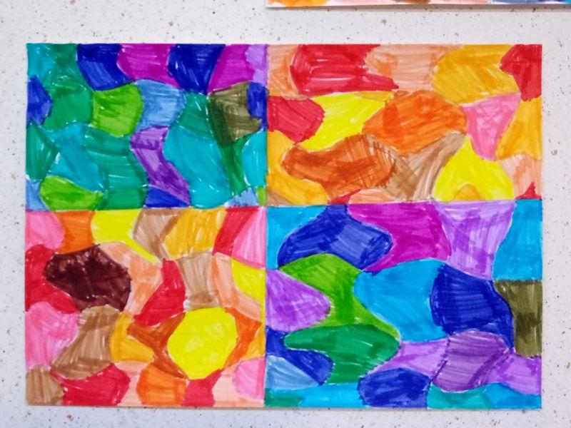Couleurs chaudes / couleurs froides « Ecole primaire publique AMAGNE