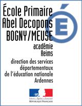 Ecole primaire publique La Vall? BOGNY SUR MEUSE