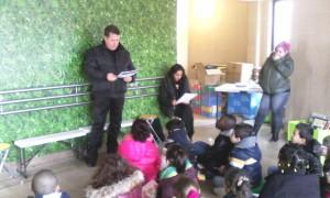Christophe nous a fait une lecture en russe.