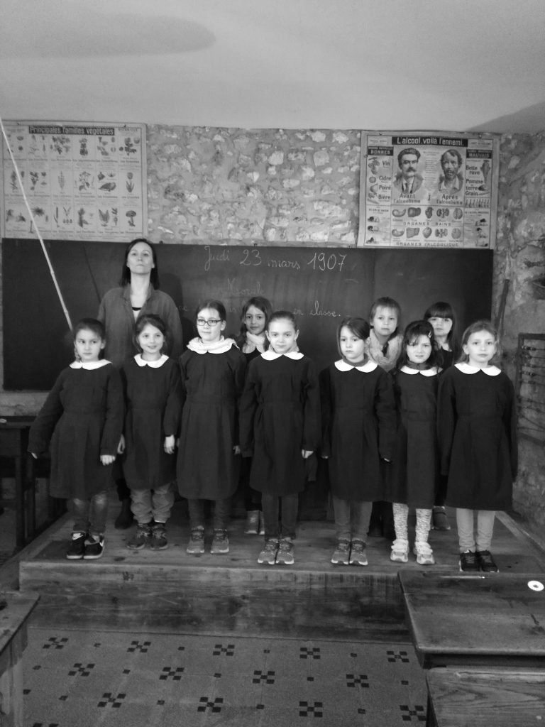 classe de filles