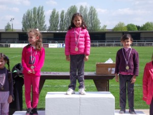 photo CP filles podium