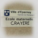 Ecole maternelle publique La Cray?re EPERNAY
