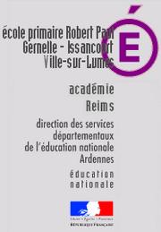 Ecole primaire publique de Gernelle-Ville-Sur-Lumes GERNELLE