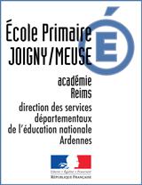 Ecole primaire publique JOIGNY SUR MEUSE