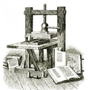 l'invention de l'imprimerie