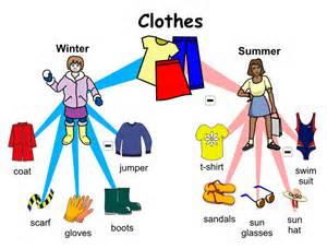 clothes summer and winter