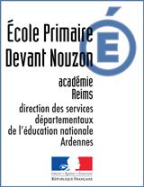 Ecole primaire publique de Devant Nouzon NOUZONVILLE
