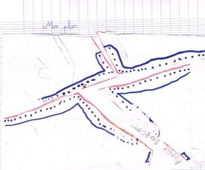mon plan de village sans rue