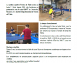 Classe de seconde voie générale et technologique enseignement optionnel : Section sportive tenis de table