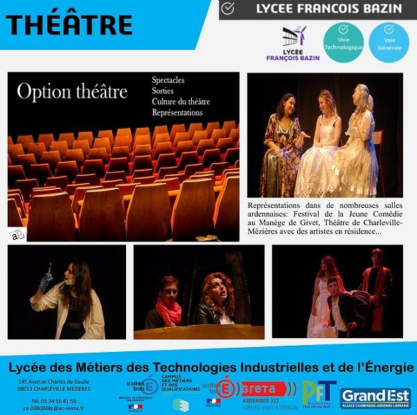 Bac Général Option théâtre 20201